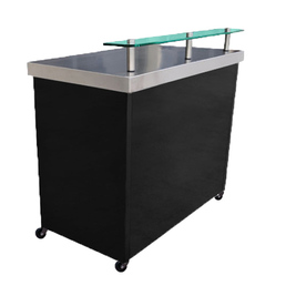 Stainless Steel Mobile, Portable Bar, 1200 Series
