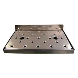 300 x 180mm Drip Tray Wall Mounted, Stainless Steel