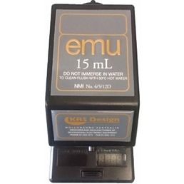 15ml EMU Electronic Spirit Dispenser - Black