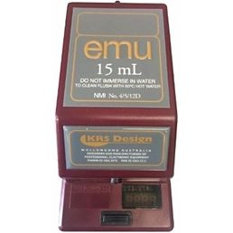 15ml EMU Electronic Spirit Dispenser - Burgundy