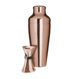 Shaker and Jigger Copper Gift Set