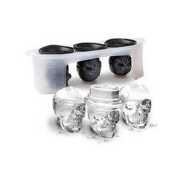Skull Ice Moulds, Set of 3