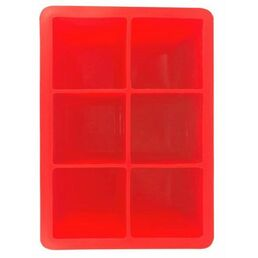 King Cube Ice Cube Mould Silicone, Various Colours