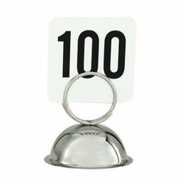 60mm Ring Table Number Holder / Menu Clip