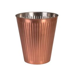 WINE BUCKET-RIBBED COPPER FINISH