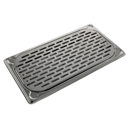 325 x 175mm Inset Bar Drip Tray, Stainless Steel
