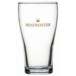 CONICAL HEADMASTER 425ml Nucleated Schooner Glass