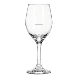 Perception 11oz Wine Glasses with Portion Control Line