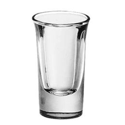 1oz Tall Whisky Glass Shooter