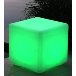 40cm Led Cube Bar Stool Multi Colour