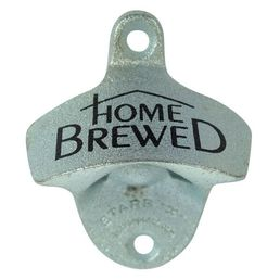 'Home Brewed' Wall Mounted Bottle Opener