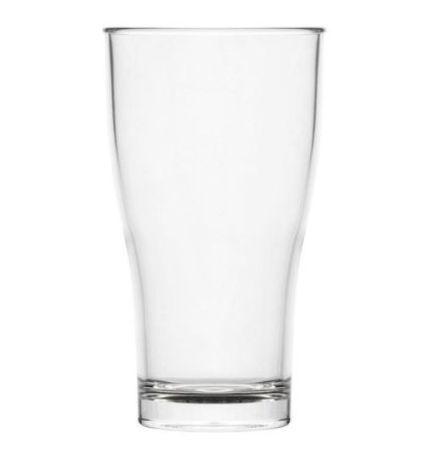 Delightful Beer Glass Schooner 425ml Polycarbonate Plastic