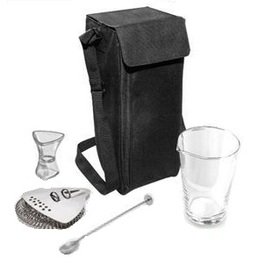 Cocktail Kit Uber with Bar Tools & Carry Case