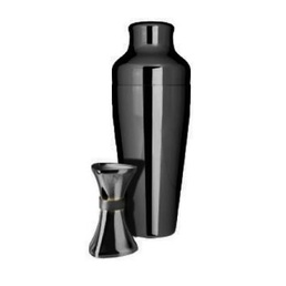 Cocktail Kit Uber Shaker and Jigger Black