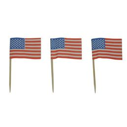 Toothpick Flags - United States of America Box 500