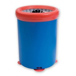 Glass Scrubber Portable Glass Washing Bucket Blue