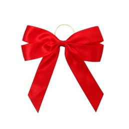 Gift Bag Bow Honolulu 4 Loop Red