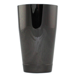 Cocktail Shaker Toby Black Chrome 18oz