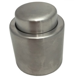 Champagne Stopper Stainless Steel - Press Top
