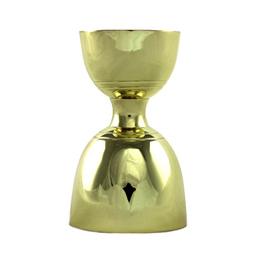 Bell Jigger S/S Gold 30/60ml