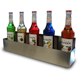 Speed Rack Stainless Steel - 5 Bottle