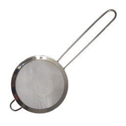Cocktail Strainer Mesh Round Stainless Steel 100mm