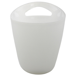 Ice Bucket Wine Cooler Frosted Plastic 3 Litre