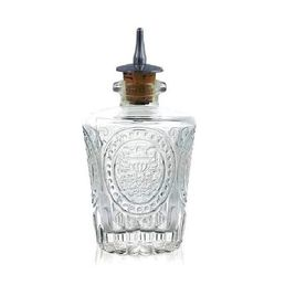Bitters Bottle Antique Dasher Cork Chrome 115ml