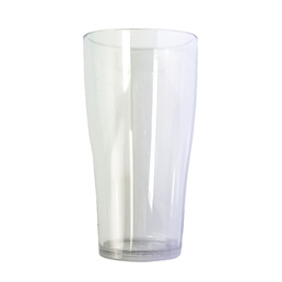 Beer Glass Conical Pot Middy 285ml Polycarb Nucleated