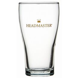 Beer Glass Pot Middy Conical 285ml Headmaster