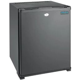 Mini Bar Fridge Hotel Style Solid Door 30L Black