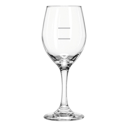 Wine Glass Perception 325ml 2 Pour Lines 150ml & 250ml