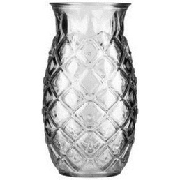 Tiki Cocktail Glass Pineapple 473ml Each for Box of 12
