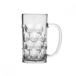 Beer Glass Stein 540ml Polycarbonate Plastic