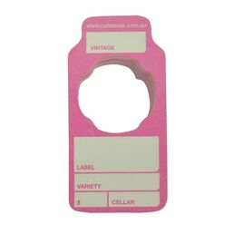 Wine Cellar Tags Rose Pack 50
