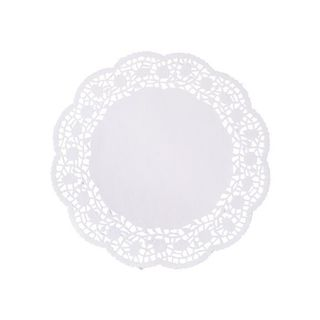 Round Lace Paper Doyleys 100mm Pk 250