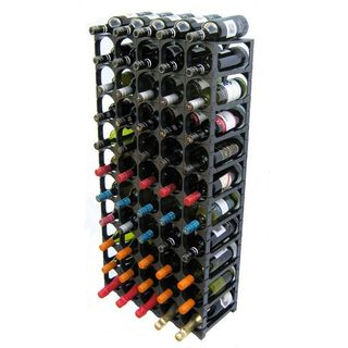 Wine Rack System Kit Black 55/60 Bottle